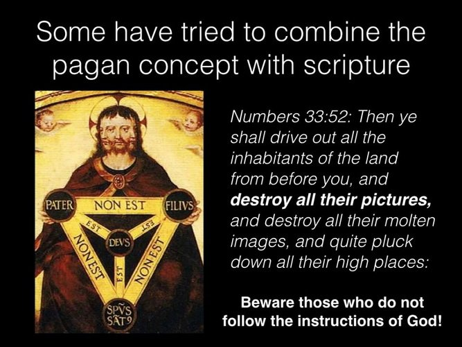 1 John 5:7 has pagan origins