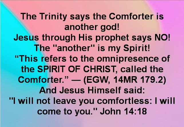 Who is the Comforter?