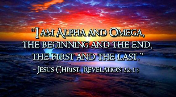 Jesus is the Alpha and Omega