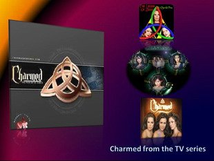 Charmed trinity with triquetra