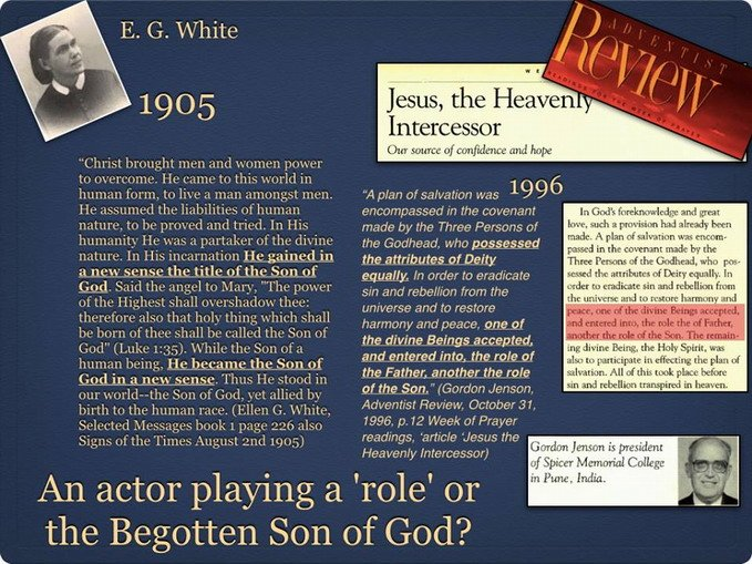 Ellen White and Gordon Jenson Adventist Review
