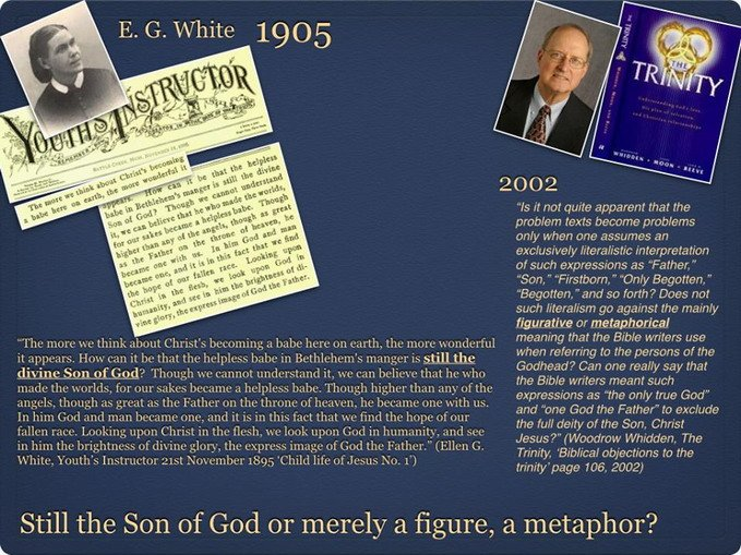 Ellen White and Woodrow Whidden and The Trinity