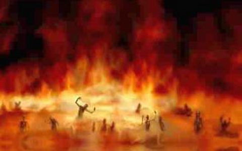 Trinity doctrine results in hell fire