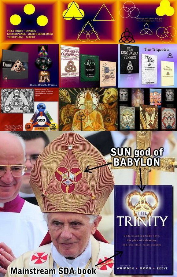 Triquetra and the Trinity amd sun worship